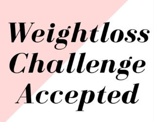 weightloss challenge - accepted