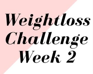 weightloss challenge week 2